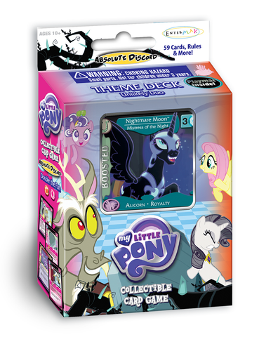 "MLP CCG Absolute Discord ""Unlikely Duo"" Theme Deck - Nightmare Moon"