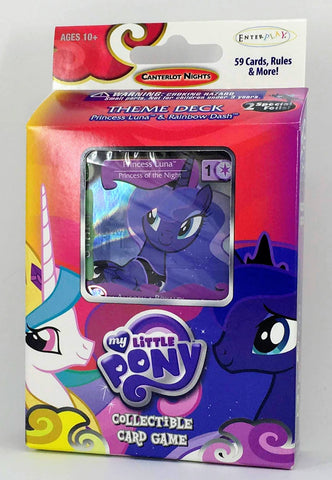 MLP CCG Canterlot Nights Theme Deck - Princess Luna (Specialty version)