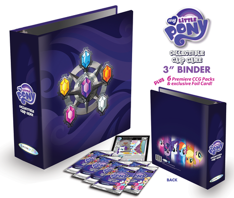 MLP CCG Binder w/ 6-Pack and Special Foil