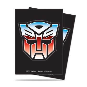 Transformers Card Sleeves - Autobot Mask