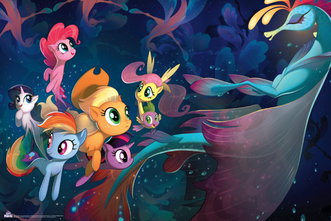 MLP Movie Poster - Seaponies