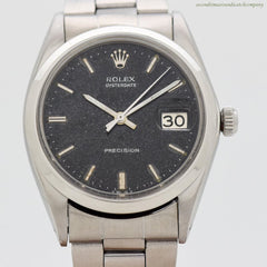 1969 Vintage Rolex Oysterdate Precision Ref. 6694 Stainless Steel Watch