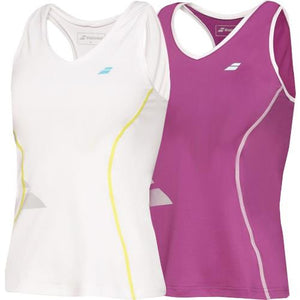 Babolat Girls Core Crop Tank Top
