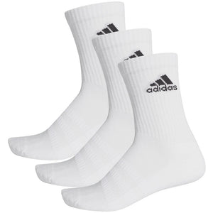 adidas Cushioned Crew Socks 3 Pack - White
