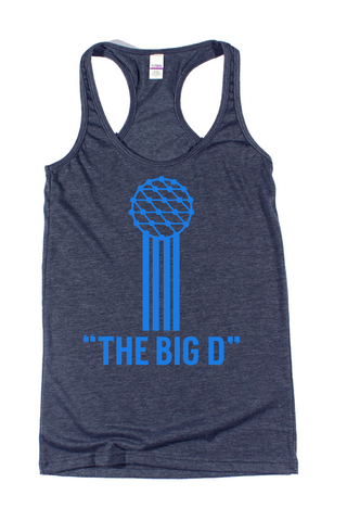 Women's The Big D Tank - Bullzerk
