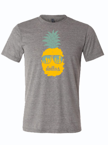 Dallas Pineapple T-shirt