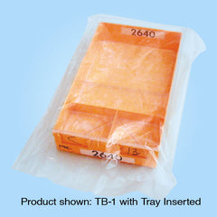 Plastic Tray Bags Gusseted GTB-1