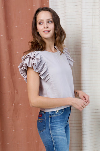 palermo top in violet