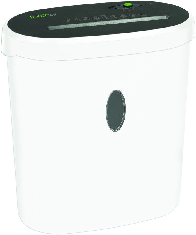 Limited Edition 8-Sheet Microcut Paper Shredder - White GMW81B