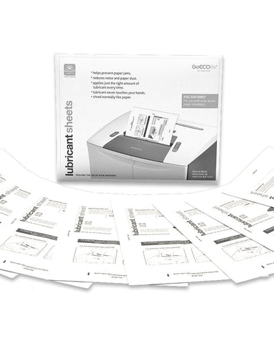 GoECOlife™ Shredder Lubricant Sheets Large - 12-pack GLL12