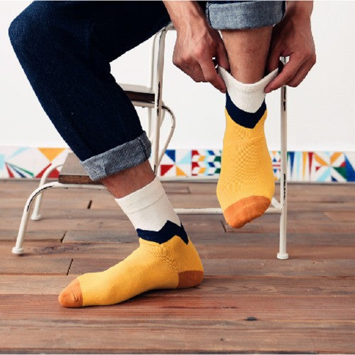 Chevron casual socks