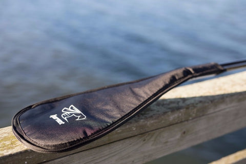SUP Paddle Blade Cover (Black/Black/Silver)