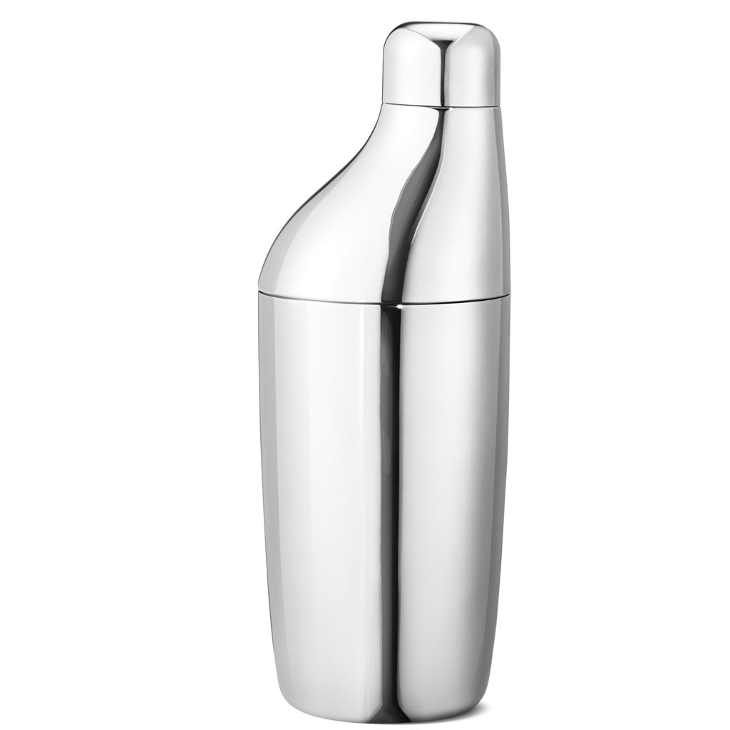 A GEORG JENSEN 'Sky' Cocktail Shaker in Stainless Steel
