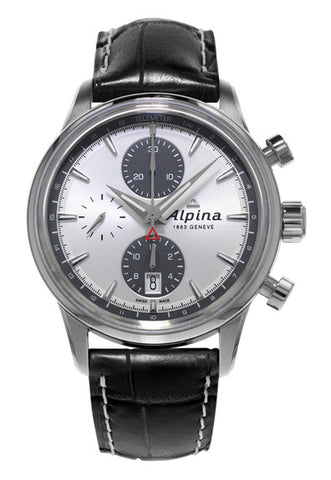 ALPINA Chronograph Automatic Watch on strap AL-750SG4E6
