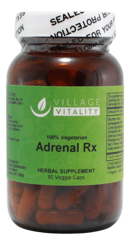 Adrenal Rx - 90 Capsules - Front