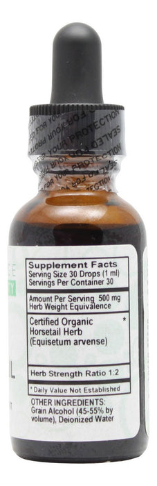 Horsetail - 1 oz Liquid - Supplement Facts