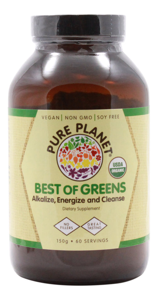 Best Of Greens - Unflavored - 150 g Powder - Front