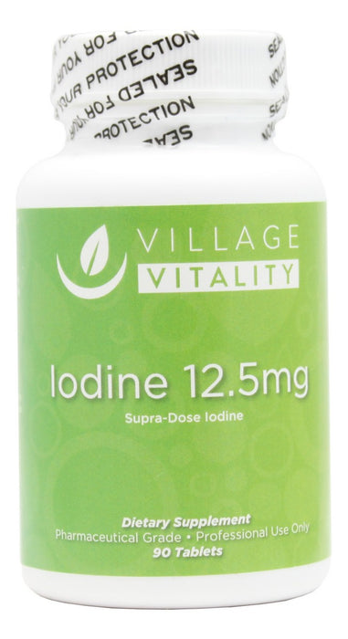 Iodine 12.5mg - 90 Tablets - Front