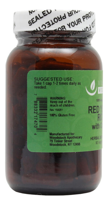 Red Yeast Rice with CoQ10 - 90 Capsules - Info