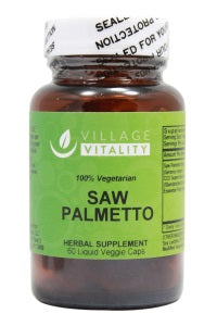 Saw Palmetto - 60 Capsules - Front