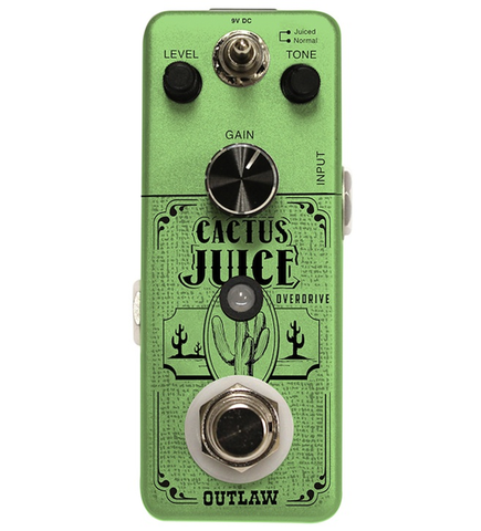 Outlaw Effects Cactus Juice Overdrive Guitar Effects Pedal