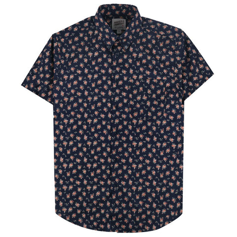 naked and famous Button down short sleeve YQR Local Shop
