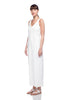 White Drew Jumpsuit