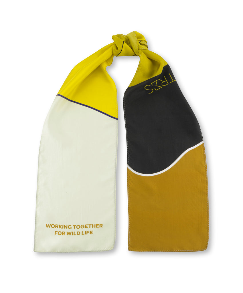 The Yellow Landscape Thin Scarf