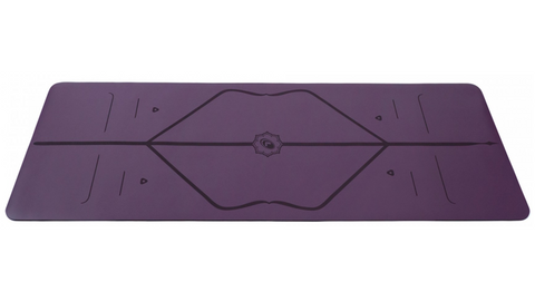 Liforme Yoga Mat - Purple Earth (In-Store Only) - goYOGA Outlet