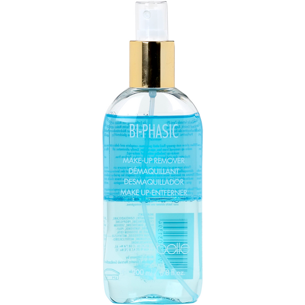 Biphasic makeup remover