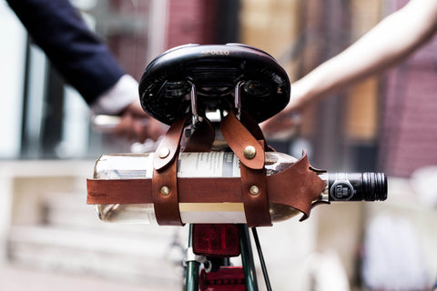 Jacobs Leather Velo Holder - Wine