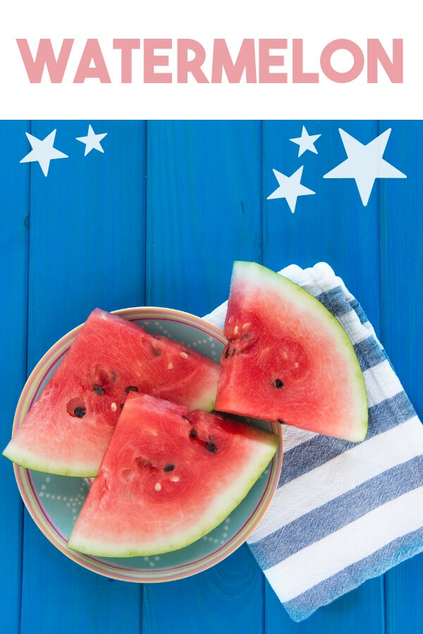 Poolside snacks - watermelon
