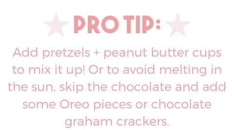 s'mores trail mix pro tip