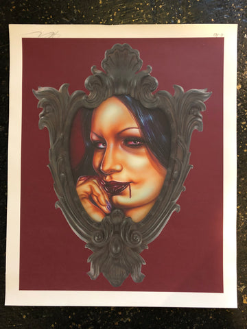 "Limited Edition Print ""Aria Vamp"" by Joe Capobianco"