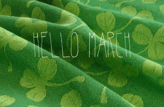 March Events: Babywearing Portraits and a Green at Home workshop!