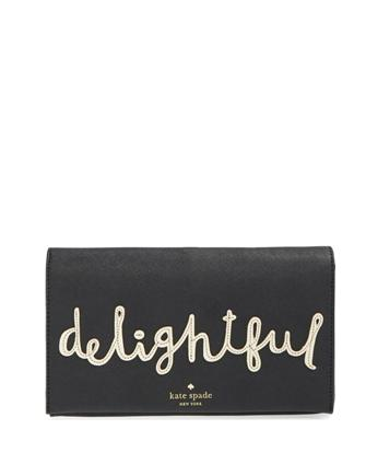 Kate Spade New York Cedar Street Delightful Tally Clutch
