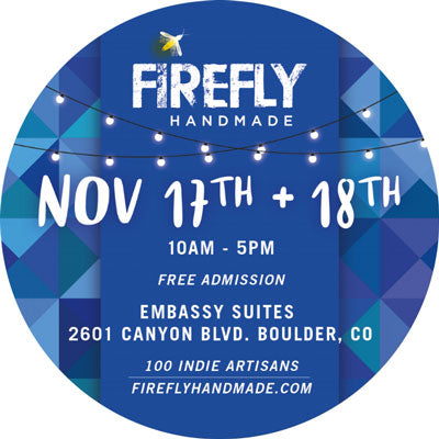 Firefly Handmade Holiday Market - Nov. 17 & 18, 2018