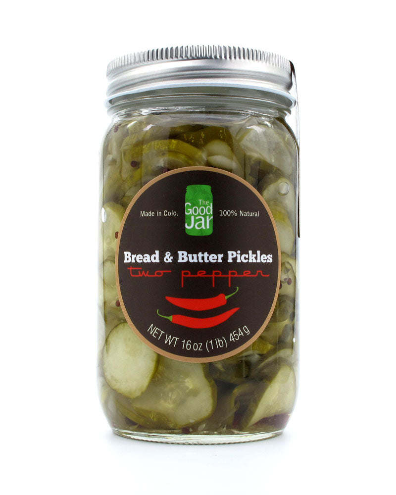Bread & Butter Pickles - Two Pepper