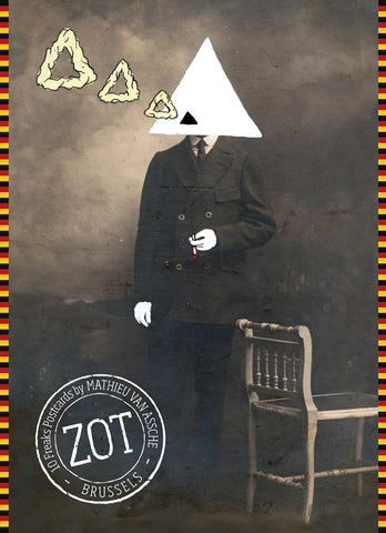 "Cartes postales ""ZOT"" - «10 Freaks Postcards De Luxe Set» by Mathieu Van Assche"