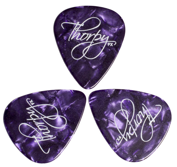 ThorpyFx 1mm Guitar Picks Pack of 3