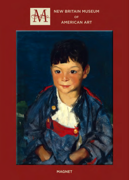 An Imaginative Boy, Robert Henri - Magnet