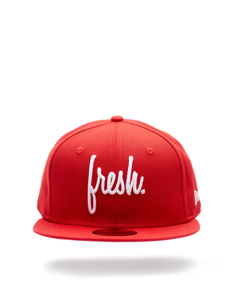 Fresh Fitted New Era Cap - Red