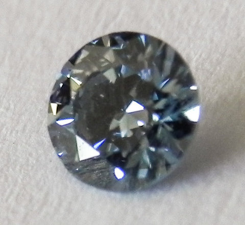 0.23 Ct. Round Brilliant SI1 Fancy Blue
