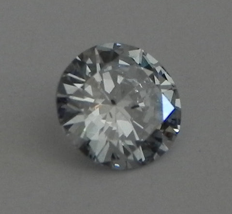 0.29 Ct. Round Brilliant SI2 Fancy Light Blue