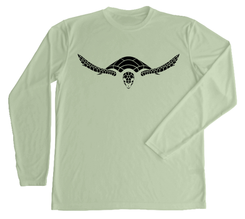 Hawksbill Sea Turtle Performance Build-A-Shirt (Front / SE)
