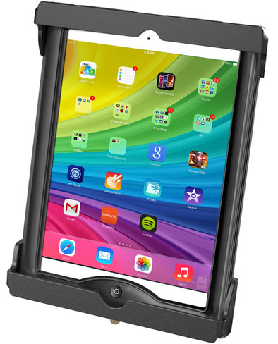 Quick Release Tab-Lock Cradle for iPad Air and Pro 9.7in in Most Cases