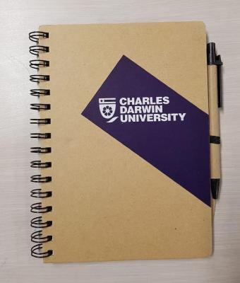 CDU NOTEBOOK RECYCLED PAPER A5 140 PAGES