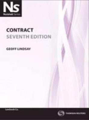 NUTSHELL: CONTRACT LAW - Charles Darwin University Bookshop