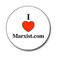 "I ♥ Marxist.com 1"" Button"