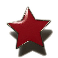 Small Red Star Hat/Lapel Pin